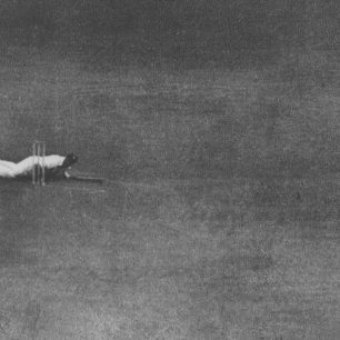 Cricketers at Lords unable to find cover as a flying bomb went over | Lords archives