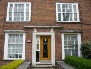 New doorway to flats | Louise Brodie