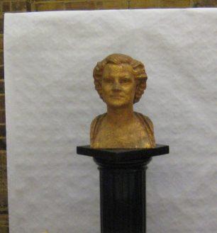 Bust of Ferrier by Fleischmann | Jeanne Strang
