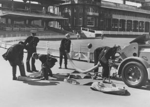 Firemen at Lords | Lords archives