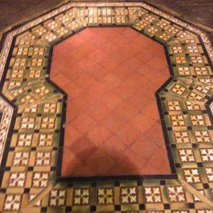 Floor tiles St Mark's | Bridget Clarke