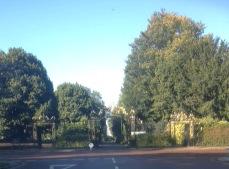Goetze gates Regent's Park | Bridget Clarke