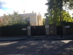 Grove House, renamed Nuffield Lodge | Bridget Clarke