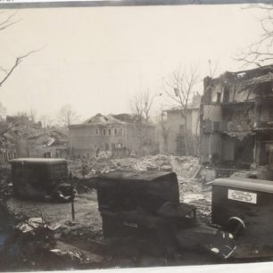 Henstridge Place bomb site | Westminster City Archives
