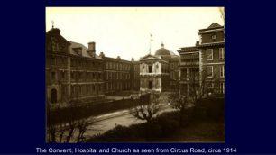 Convent, Hospital & Chapel circa 1914