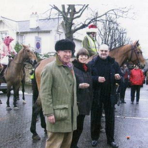 Residents and the Troop on Christmas Eve | St John's Wood Society