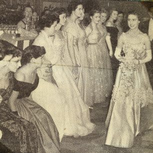 Princess Margaret at Selfridges Ball