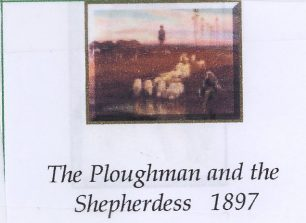 Goodall's Ploughman and Shepherdess | www.goodallartists.ca