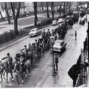 Troop in Bryanston Square 1960s | Westminster Archives