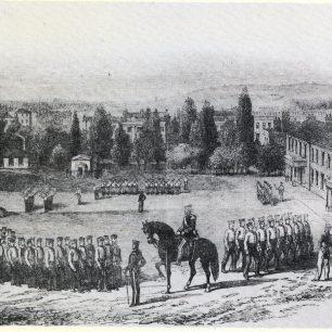 Barracks 1854 | Westminster Archives