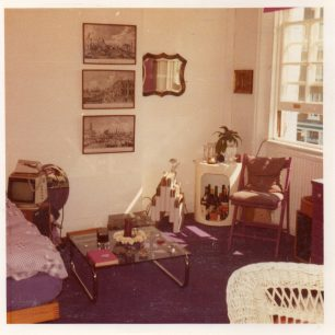 Interior 10 Blenheim Terrace mid 1970s | Clare Bonnefin
