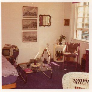 Interior 10 Blenheim Terrace mid 1970s | Clare Bonnefin