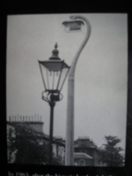 lampposts in 1956