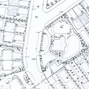 Map showing Manor House | Westminster Archives