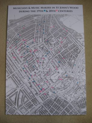 Map numbered by location | Jeanne Strang