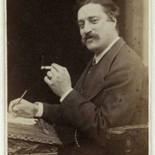 Edmund Yates - carte de visite | with permission NPG x 31034