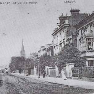 All Saint's church and Wellington Road | Westminster Archives