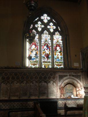 Window dedicated to Sigismund Goetze's parents | Bridget Clarke