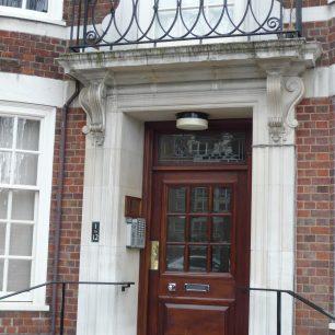 Park Lodge doorway   Louise Brodie