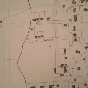 Garden Road and the area that became Alma Square 1834 | City of Westminster Archives