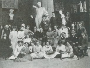 Pupils at the St John's Wood art school | A. Montgomery Eyre St John's Wood
