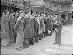 Roll call at Lord's | IWM CH 10987