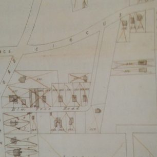 1858 sale map of houses disposed of | Westminster Archives