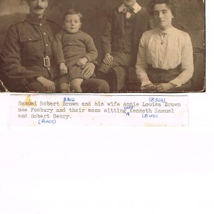 Samuel Brown and family | Brown family