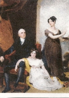Charles Binny with his Daughters by Thomas Lawrence | sale catalogue