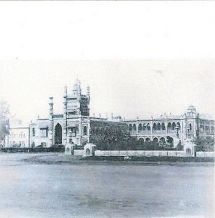 The Chepauk Palace, in the Indo-Saracenic Style