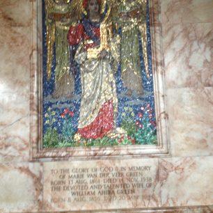 Mosaiac to Marie van der Vere Green | Bridget Clarke