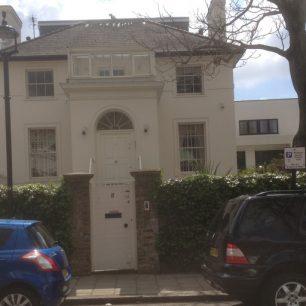 No 8 the oldest house on the Eyre estate | Bridget Clarke