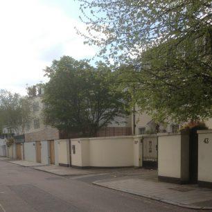 Elm Tree Road in the 21st century