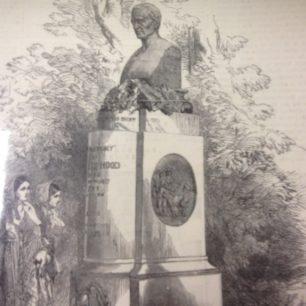 Thomas Hood memorial in Kensal Green cemetery