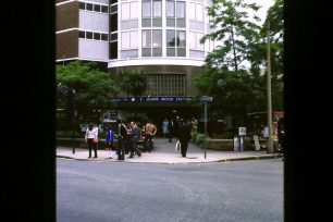 St John's Wood station with flats above 1970s | Roger Himsley