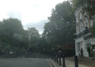 Violet Hill Gardens at end of Abbey Gardens | Bridget Clarke