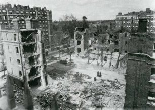 After the flying bomb struck | westminster Archives